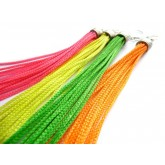 Neon Fringe Earrings, Green Fringe, Orange Fringe, Yellow Fringe, Pink Fringe,