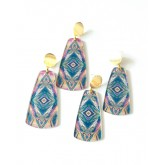 Blue Chic Earrings