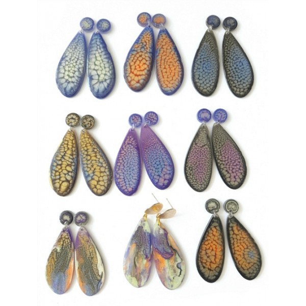Colorful Earrings Chic,