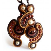 Cute Brown Earrings,