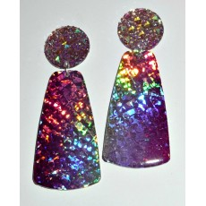 Holographic Earrings, Chic Earrings,