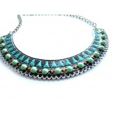 Turquoise Necklace, Statement Necklace,