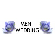 Men wedding