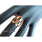 Copper Pattern Ring
