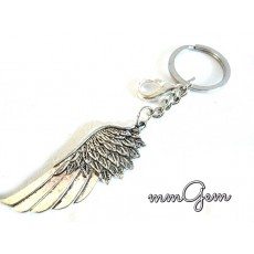 Silver Wing Key Chain