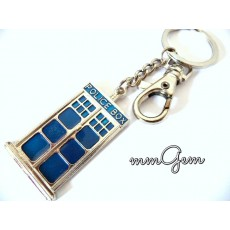 Dr. Who Key Chain, Police Box Key Chain