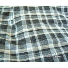 Men Plaid Shawl