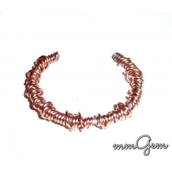 Men Copper Bangle