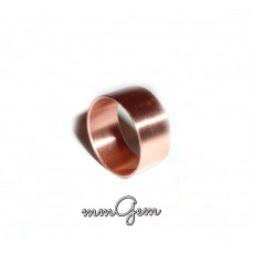 Copper Band Ring, Wide Copper Ring