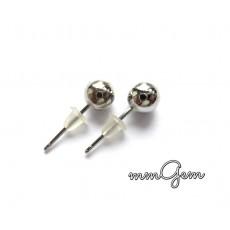 Small Ball Earrings, Stud Men Earrings
