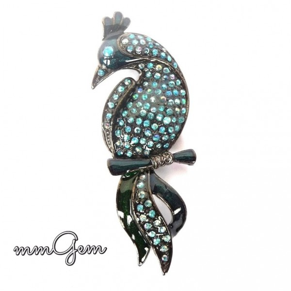 Blue Bird Brooch, Blue Bird Pin