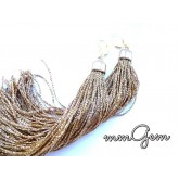 Long Fringe Boho Earrings