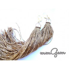Long Fringe Boho Earrings